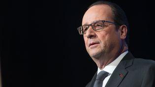 Le président de la République François Hollande, le 15 janvier 2015 à Paris. (CHAMUSSY / SIPA)