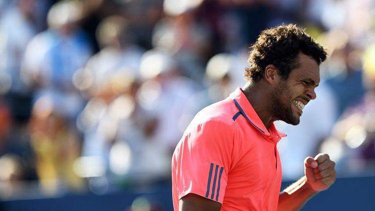 Toute la rage de Jo-Wilfried Tsonga  (JEWEL SAMAD / AFP)