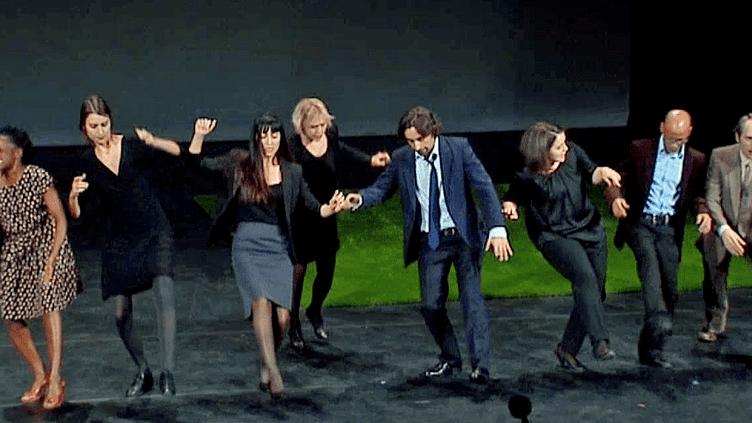 """Nimis Groupe, le collectif belgeprésente sa dernière création """"Ceux que j'ai rencontrés ne m'ont peut-être pas vu""""au Festival Sens Interdits de Lyon  (France 3 / Culturebox)"""