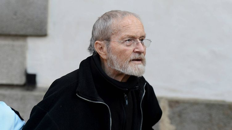 (Maurice Agnelet pendant son procès à Rennes, le 11 avril 2014. © Maxppp)