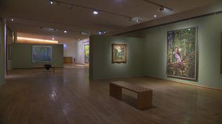 """L'exposition """"Côté jardin"""" au musée des impressionnismes de Giverny. (FRANCEINFO)"""