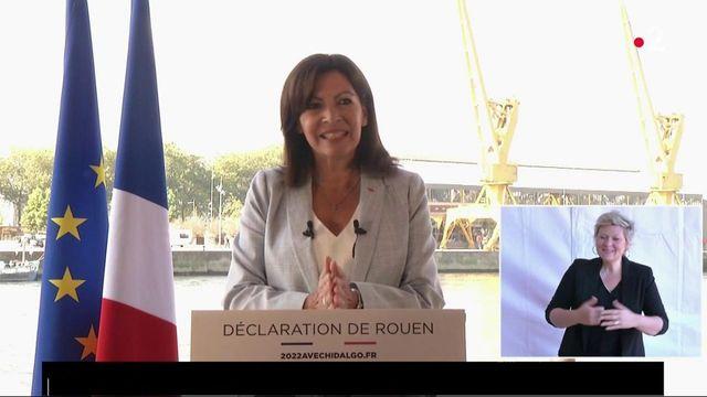 Présidentielles 2022 : Anne Hidalgo officialise sa candidature à Rouen