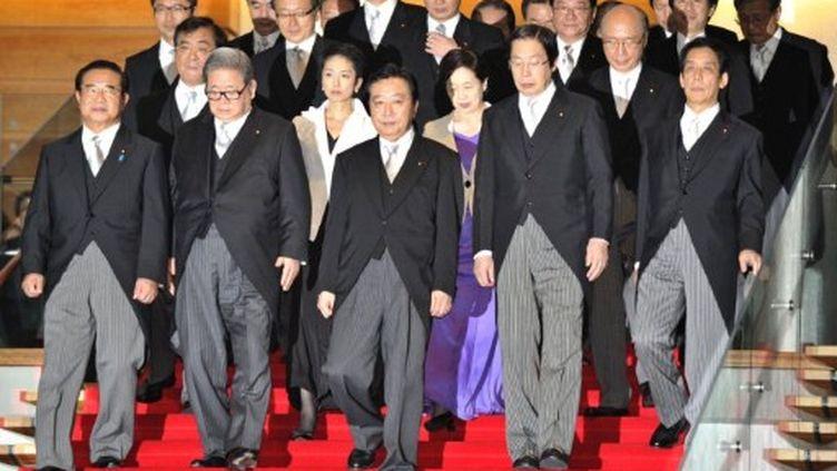 Le nouveau gouvernement japonais (septembre 2011) (AFP. KAZUHIRO NOGI)