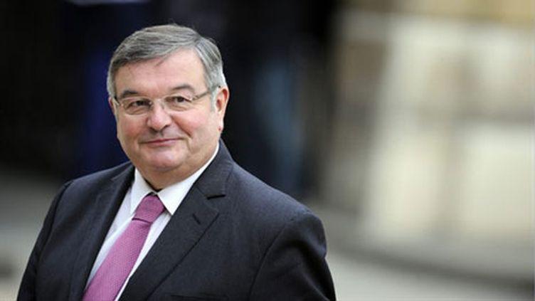 Le ministre de la Justice, Michel Mercier (17-11-2010) (AFP - Lionel Bonaventure)