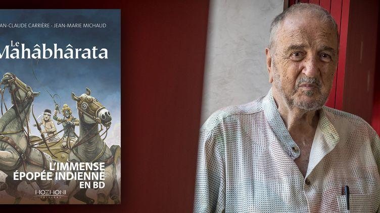 Jean-Claude Carrière poursuit en BD son exploration du Mahâbhârata (Editions Hozhoni)