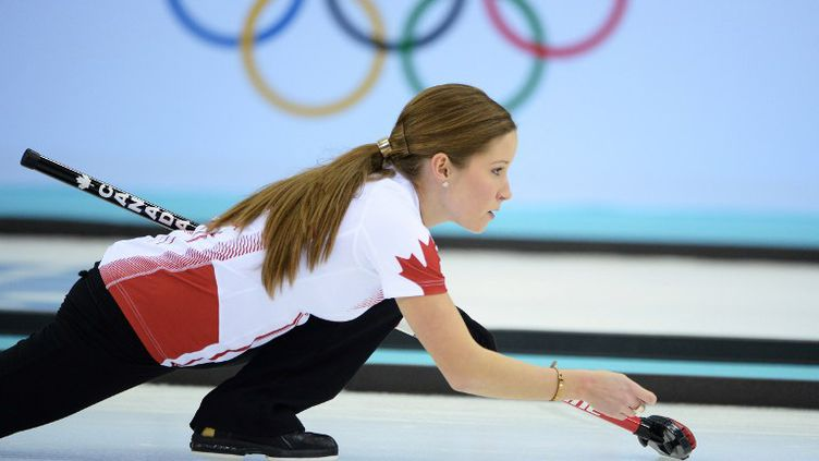 La Canadienne Kaithlyn Lawes (JUNG YEON-JE / AFP)