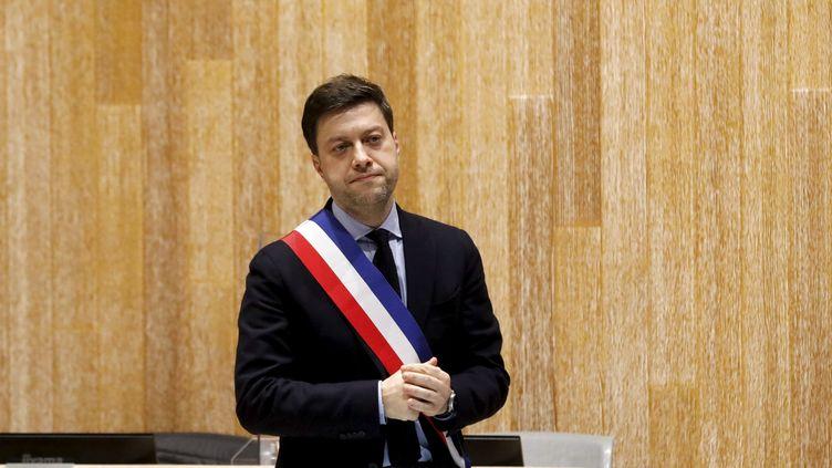 Le nouveau maire de Marseille élu le 21 décembre Benoît Payan. (DAVID ROSSI / MAXPPP)