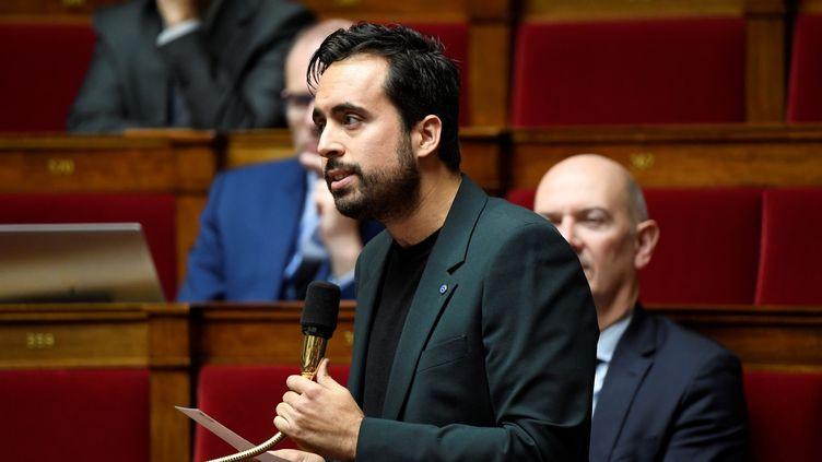 Mounir Mahjoubi, lors d'une session de questions au gouvernement, à l'Assemblée nationale, à Paris, le 12 novembre 2019. (BERTRAND GUAY / AFP)