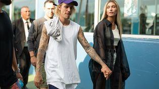 Justin Bieber et Hailey Baldwin en septembre 2018. (MATTHEW SPERZEL / GETTY IMAGES NORTH AMERICA)