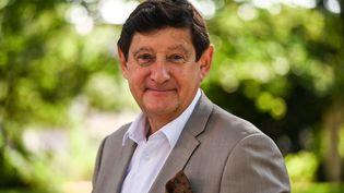 Patrick Kanner, président du groupe socialiste, écologiste et républicain au Sénat, le 6 septembre 2021. (PASCAL GUYOT / AFP)