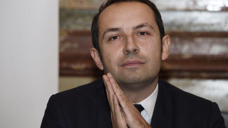 Sébastien Chenu, conseiller régional Front national des Hauts-de-France, le 12 décembre 2014 à Paris. (DOMINIQUE FAGET / AFP)