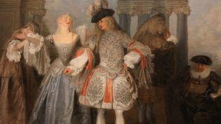 Les comediens francais par Watteau (détail)  (GINIES/SIPA)