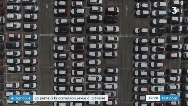 Automobile : la prime à la conversion à la baisse