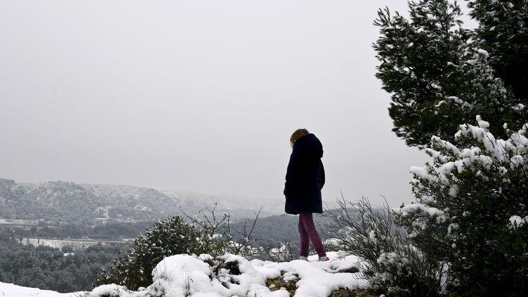 Les Pennes-Mirabeau (Bouches-du-Rhône), dimanche 10 janvier 2021. (NICOLAS TUCAT / AFP)