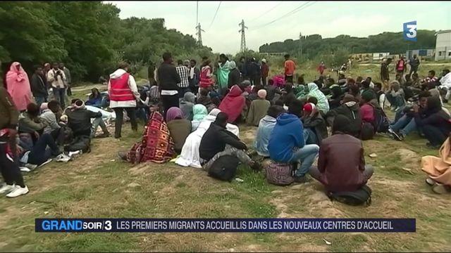 Les premiers migrants sont arrivés dans les nouveaux centres d'accueil