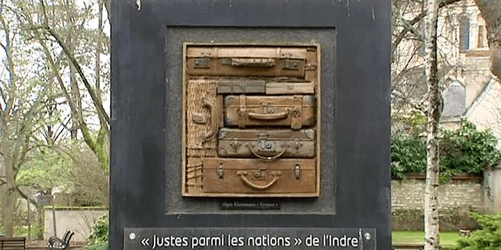 """""""La stèle des Justes"""" - Alain Kleinmann  (France 3 / Culturebox)"""