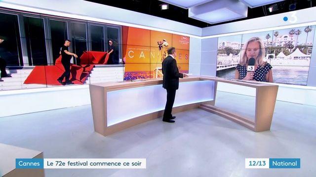 Cannes :  le 72e festival commence ce soir
