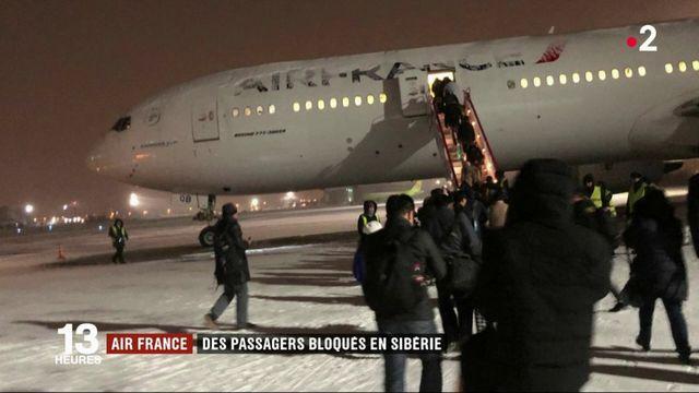 Air France : des passagers bloqués en Sibérie