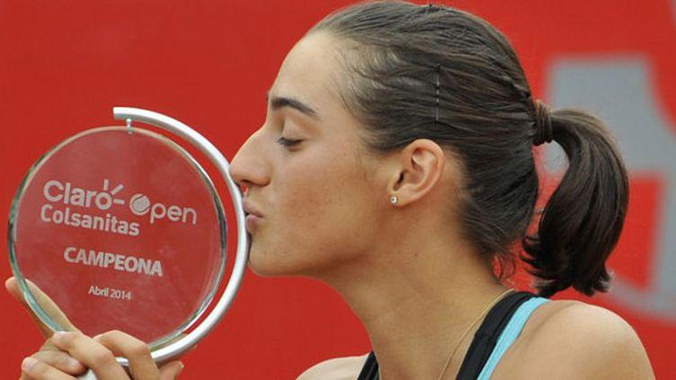 Caroline Garcia soulève son premier trophée