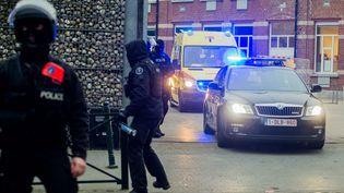 Le terroriste présumé a été arrêté durant cette vaste opération antiterroriste. Il a été blessé à la jambe. (MAXPPP)