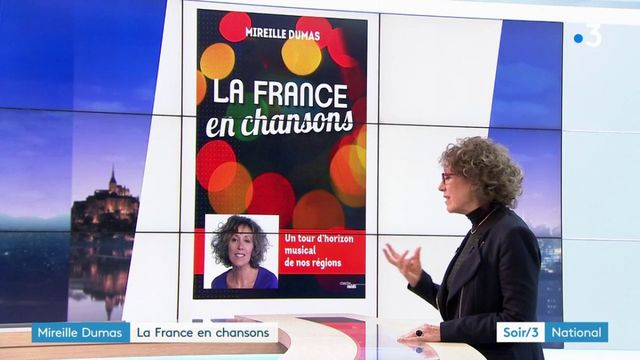 """""""la france en chansons"""" de Mireille Dumas"""