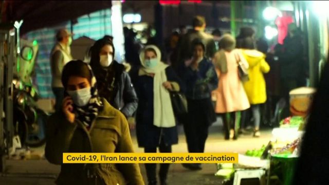 Iran : début de la campagne de vaccination contre le Covid-19