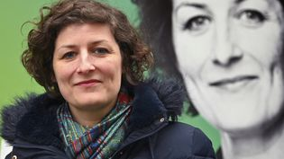 Jeanne Barseghian, nouvelle maire écologiste de Strasbourg, le 2 mars 2020. (FREDERICK FLORIN / AFP)