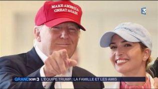 Donald Trump et sa fille Ivanka, proche conseillère à la Maison-Blanche. (FRANCE 3)