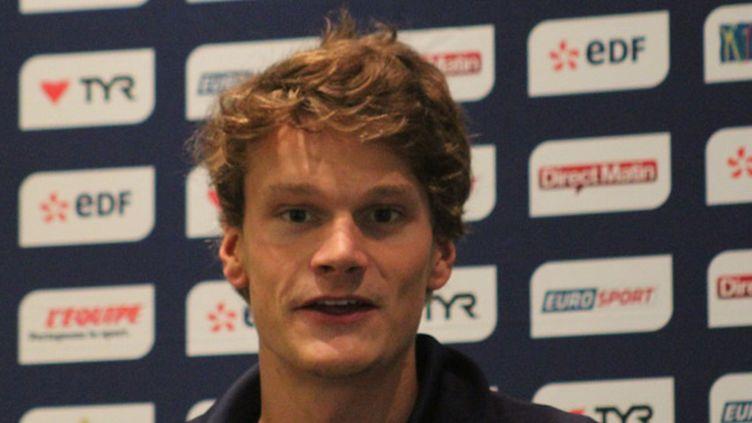 Le champion olympique Yannick Agnel