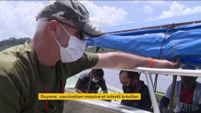 Guyane : des Brésiliens traversent la frontière pour se faire vacciner