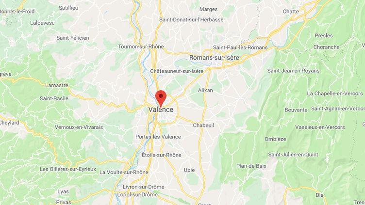 Valence (Drôme). (GOOGLE MAPS)
