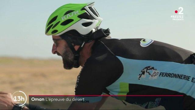 Oman : l'épreuve du désert pour les cyclistes d'une course extrême