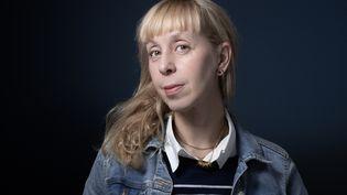 La romancière Lola Lafonle 5 octobre 2020 à Paris (JOEL SAGET / AFP)