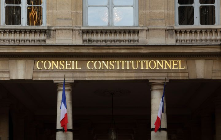 Le Conseil constitutionnel, le 4 juin 2020 à Paris. (MANUEL COHEN / AFP)