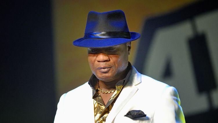 Le chanteur Koffi Olomidé sur scène en 2007.  (Sadaka Edmond / SIPA)