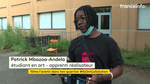 """À Lyon, des jeunes de quartiers défavorisés réalisent des courts-métrages pour le concours """"Filme l'avenir"""""""