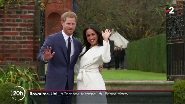 Royaume-Uni : la tristesse du prince Harry