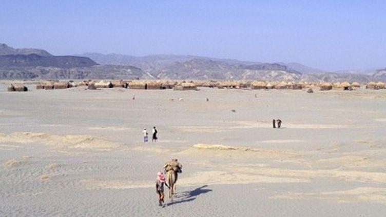 Quelque part dans le désert érythréen... (AFP - Hemis.fr - Bruno Morandi)