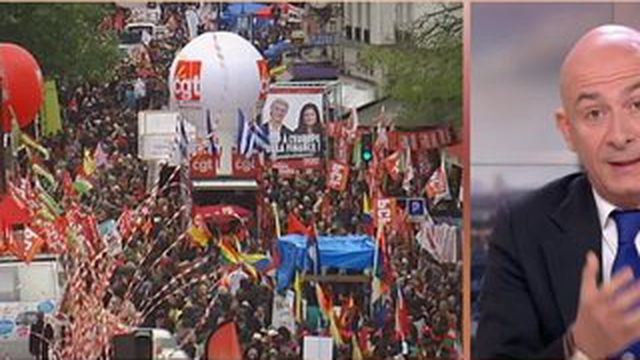 Défilés du 1er-mai : la mobilisation faiblit