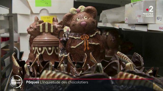 Coronavirus : les chocolatiers dans la tourmente