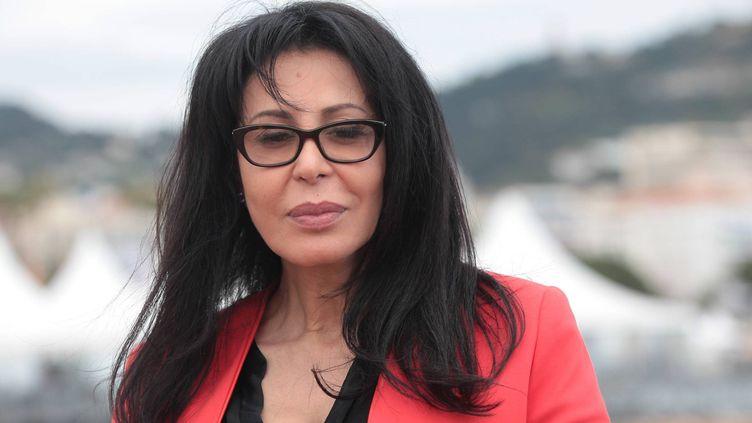 Yamina Benguigui, alors ministre de la Francophonie, au festival de Cannes, le 17 mai2013. (MAXPPP)