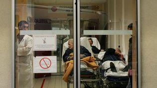 Accueil des urgences de l'hôpital de Périgueux (Dordogne). (MAXPPP)