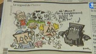 Le dessin de presse selon Plantu au Mémorial pour la paix  (Culturebox)