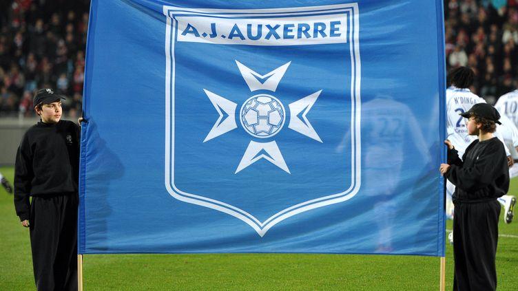 L'AJ Auxerre en deuil (PHILIPPE HUGUEN / AFP)