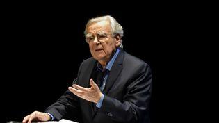 Bernard Pivot lors d'une réunion à Valence (Drôme), le 13 janvier 2017. (CHRISTOPHE ESTASSY / CITIZENSIDE / AFP)