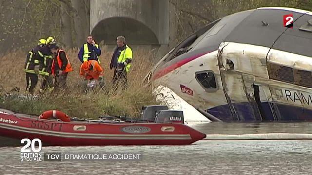 Alsace : le déraillement mortel d'un TGV toujours inexpliqué