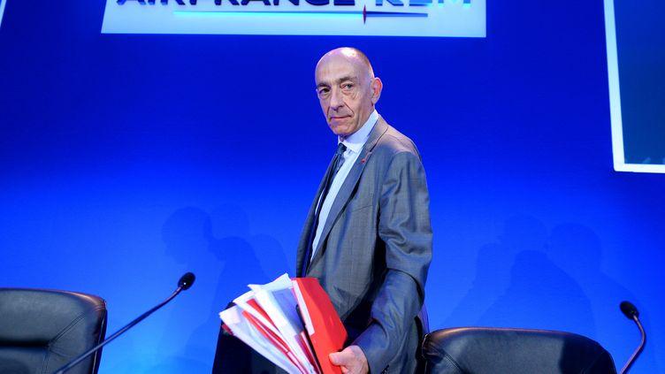 Jean-Marc Janaillac, le 27 juillet 2016, à Paris. (ERIC PIERMONT / AFP)