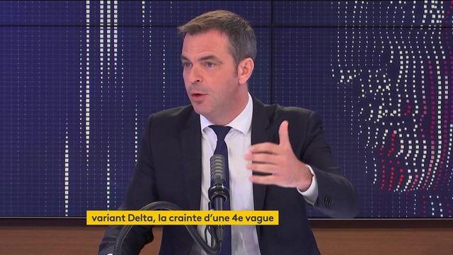 """Covid-19 : """"Vous avez 1 500 centres qui vous attendent, vous pouvez y aller sans rendez-vous"""", assure Olivier Véran"""