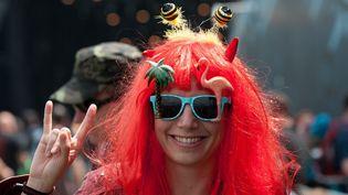 La Queen B du Hellfest 2016.  (Sébastien Salom-Gomis /SIPA)