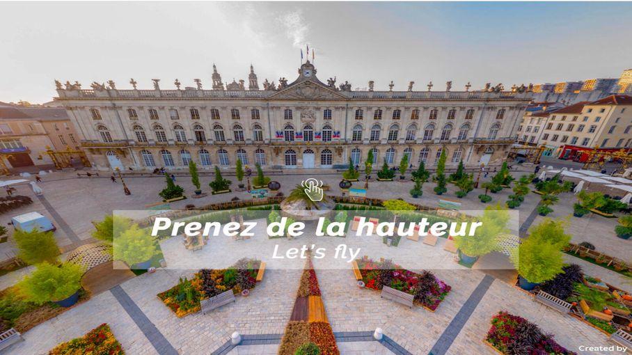 À Nancy, une startup propose des balades virtuelles vues du ciel pour valoriser le territoire